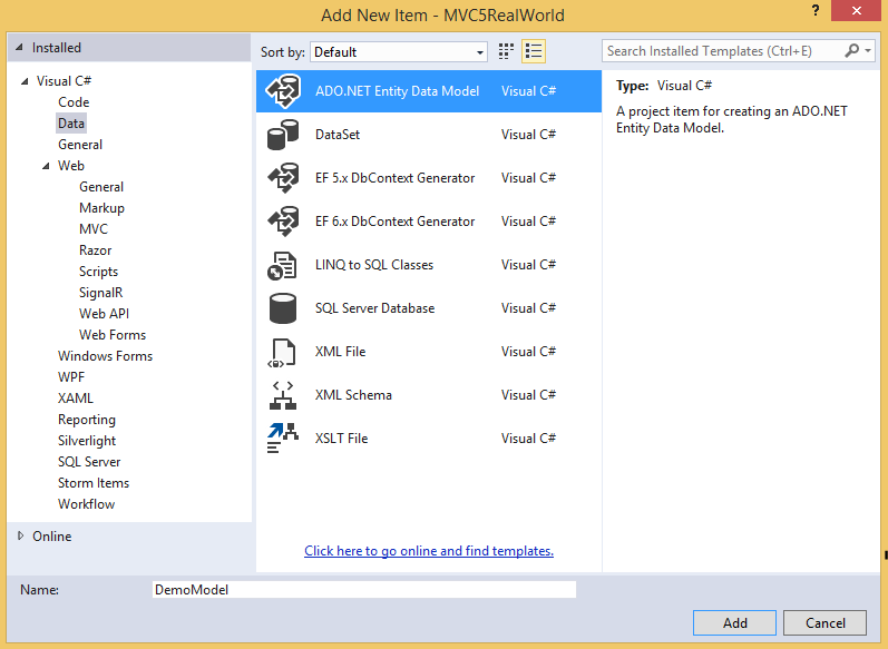 between entity framework or operator expected