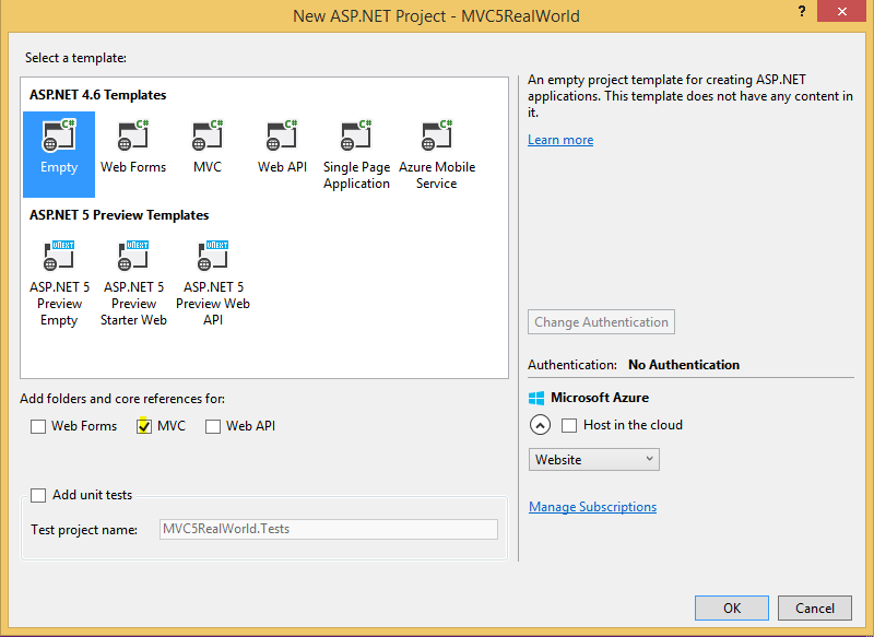 Building Web Application using Entity Framework and MVC 5: Part 1
